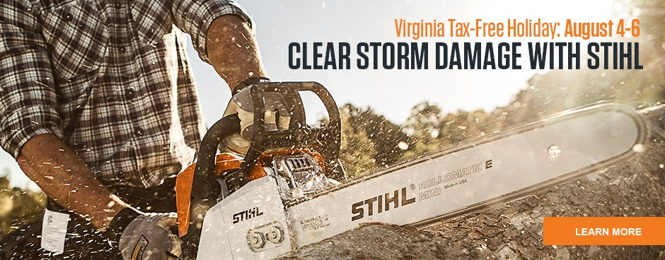 Clear Storm Damage with STIHL
